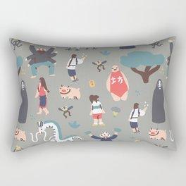Spirited Away Rectangular Pillow