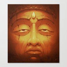 Buddha II Gold Canvas Print
