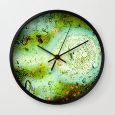 Somewhere in Space Wall Clock