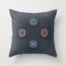 PlayStation - Buttons Throw Pillow