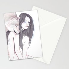 Run With The Wolf Stationery Cards