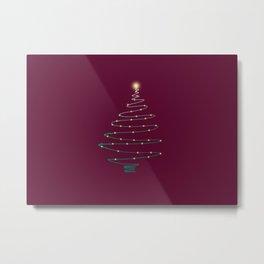Christmas tree (II) Metal Print