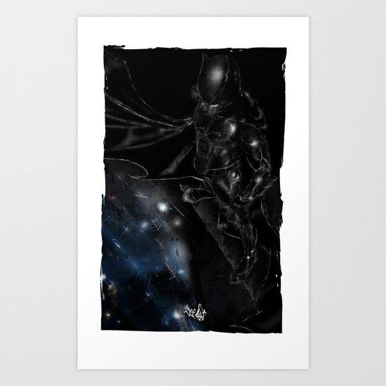 A Dark Knight Art Print