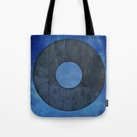 lord of the ring Tote Bags featuring Ring by Steve Mac