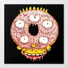 Donut Boy Canvas Print