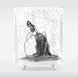 Coraline The Other Mother Shower Curtain