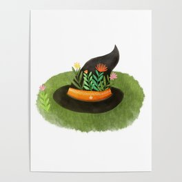 Witch Hat Poster
