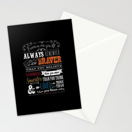 Promise me this.. Stationery Cards