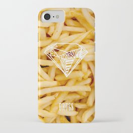 Diamonds & French Fries iPhone Case