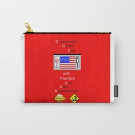 G. O. P. with President Kleptomaniac Carry-All Pouch
