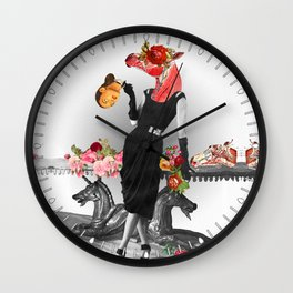Shade that Suit Wall Clock