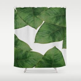 Banana Leaf II Shower Curtain