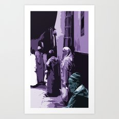 Arab World Art Print