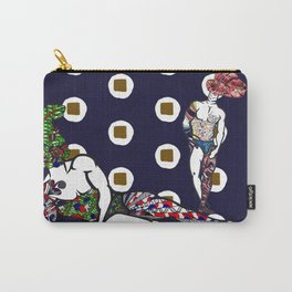 Floral Duo Carry-All Pouch