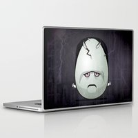 frankenstein Laptop & iPad Skins featuring Frankenstein by Marcos Lozano