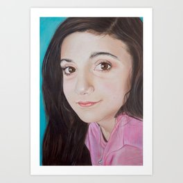 Portrait of Lia Art Print