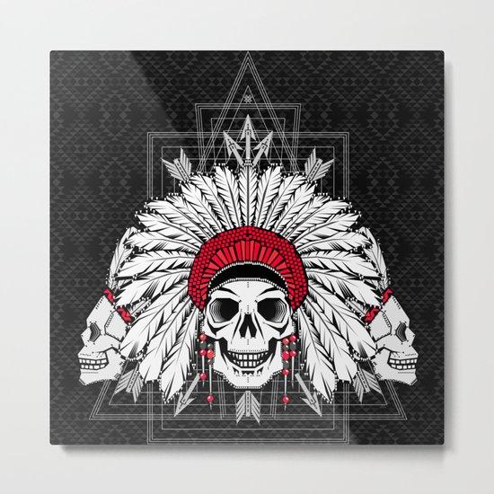 Southern Death Cult Metal Print