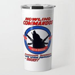 Howling Commandos CAP&BUCKY Travel Mug