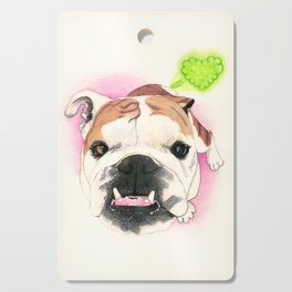 English Bulldog - F.I.P. - @LucyFarted Cutting Board
