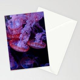 La méduse sociale Stationery Cards