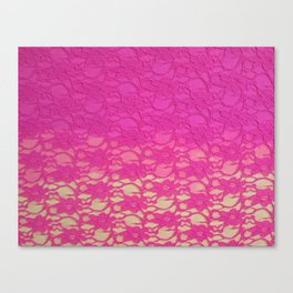 Lace Over #4 Canvas Print