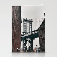 brooklyn Stationery Cards featuring brooklyn by Letter W Photography
