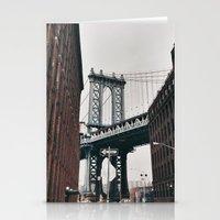 brooklyn Stationery Cards featuring brooklyn by swoicik