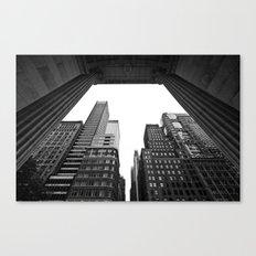 New York under the rain Canvas Print