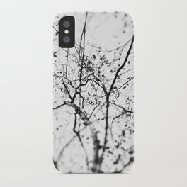 looking up . v iPhone Case