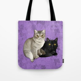 Trixie and Monty Tote Bag