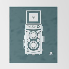 Yashica MAT 124G Camera Throw Blanket
