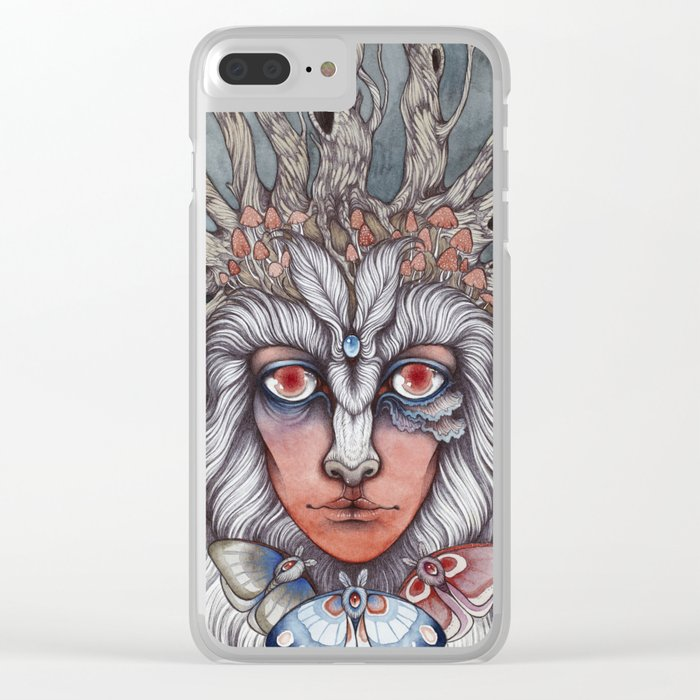 Spirit of the Forest Clear iPhone Case