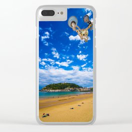 Donostia San Sebastian Clear iPhone Case