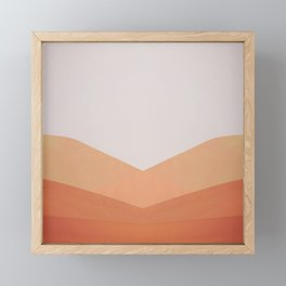 Dune Twins Framed Mini Art Print