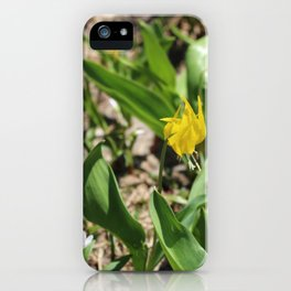 Lillies of Glacier iPhone Case