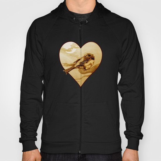Sparrow by Moonlight Hoody
