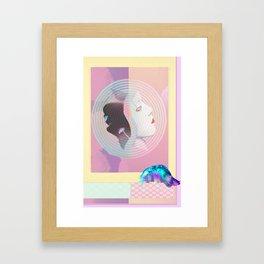 TRAPPA•KEEPA 1984 olympics Framed Art Print