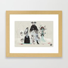 #60 - Year Walk Framed Art Print