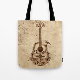 The Guitar's Song Tote Bag