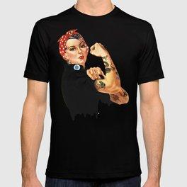 Tattooed Rosie the Riveter T-shirt