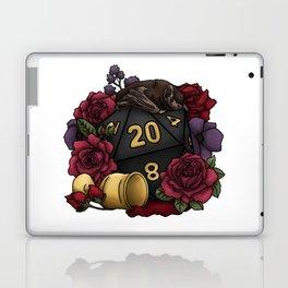 Vampire D20 Tabletop RPG Gaming Dice Laptop & iPad Skin