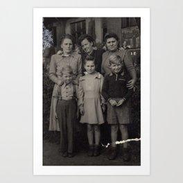 Die Familie Art Print