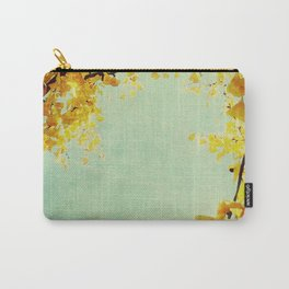 Gingko Branches Carry-All Pouch