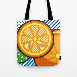 illustration pop pattern Tote Bag
