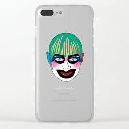 leigh bowery Clear iPhone Case