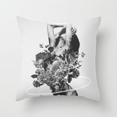 Be Slowly Throw Pillow