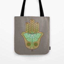 Luna Hamsa Tote Bag