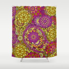 Paisley Patterns Shower Curtain