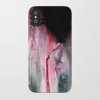 sakura iPhone & iPod Cases featuring Sakura by Iris Compiet