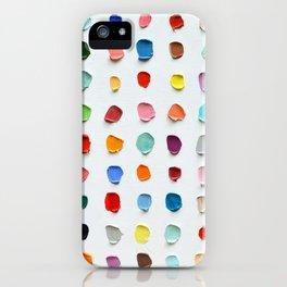 Infinite Polka Daubs 2 iPhone Case